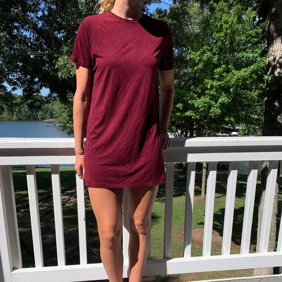 Brandy Melville Dresses & Skirts - Red velvet dress